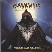 Click here for more info about 'Hawkwind - Choose Your Masques - 180gm Clear'