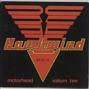 Click here for more info about 'Hawkwind - Motorhead - Promo Stamped'