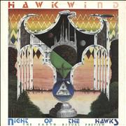 """Hawkwind Night Of The Hawks EP - The Earth Ritual Preview UK 12"""" vinyl"""