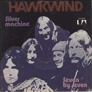 Click here for more info about 'Hawkwind - Silver Machine - Wide - P/S'