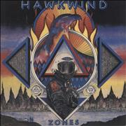 Click here for more info about 'Hawkwind - Zones - 180gm - Blue'
