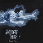 Click here for more info about 'Hawthorne Heights - Saying Sorry - Blue Vinyl'
