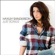Click here for more info about 'Hayley Sanderson - Just Songs'