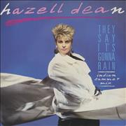 Click here for more info about 'Hazell Dean - They Say It's Gonna Rain'