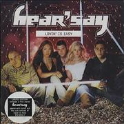 Click here for more info about 'Hear'say - Lovin' Is Easy'