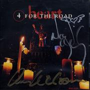 Click here for more info about 'Heart - 4 For The Road - Autographed'