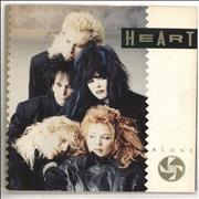 Click here for more info about 'Heart - Alone - Factory Sample'