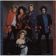Heart Heart + Merchandise insert UK vinyl LP