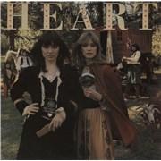 Heart Little Queen + promo stamp UK vinyl LP