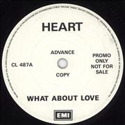 Click here for more info about 'Heart - What About Love'