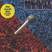 Click here for more info about 'Heart - You're The Voice - Etched'