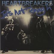 Click here for more info about 'Johnny Thunders & The Heartbreakers - It's Not Enough - Blue Vinyl'