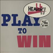 Click here for more info about 'Heaven 17 - Play To Win - stickered p/s'