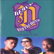 Click here for more info about 'Heavy D And The Boyz - Now That We Found Love'