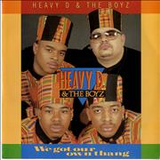 Click here for more info about 'Heavy D And The Boyz - We Got Our Own Thang'