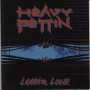 Heavy Pettin Lettin' Loose UK vinyl LP