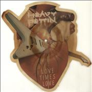 Heavy Pettin Love Times Love - Discolouration UK shaped picture disc