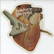 Heavy Pettin Love Times Love UK shaped picture disc