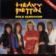 "Heavy Pettin Sole Survivor UK 12"" vinyl"