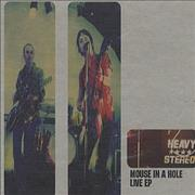 Heavy Stereo Mouse In A Hole Live EP UK CD single Promo