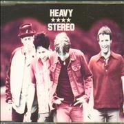 Heavy Stereo Smiler UK CD single Promo