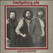 Click here for more info about 'Hedgehog Pie - Just Act Normal'