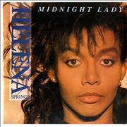 "Helena Springs Midnight Lady UK 7"" vinyl"