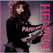 "Helena Springs Paper Money UK 7"" vinyl"