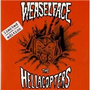 """Hellacopters Speedfreak Sweden 7"""" vinyl"""