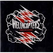 Hellacopters Strikes Like Lightning UK CD single