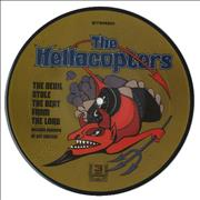 """Hellacopters The Devil Stole The Beat From The Lord USA 7"""" picture disc"""