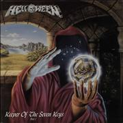 Click here for more info about 'Helloween - Keeper Of The Seven Keys - Part I - Blue Vinyl + Poster'