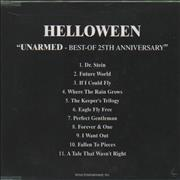 Click here for more info about 'Helloween - Unarmed - Best Of The 25th Anniversary'