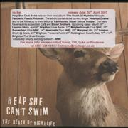 Click here for more info about 'Help She Can't Swim - The Death of Nightlife'