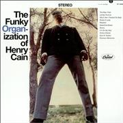 Henry Cain The Funky Organ-ization Of Henry Cain - Sealed USA vinyl LP