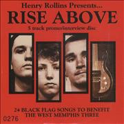 Click here for more info about 'Henry Rollins - Rise Above'