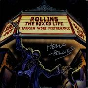Click here for more info about 'Henry Rollins - The Boxed Life - Autographed'