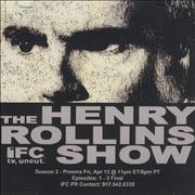 Click here for more info about 'Henry Rollins - The Henry Rollins Show'