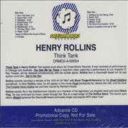 Click here for more info about 'Henry Rollins - Think Tank'
