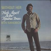 Click here for more info about 'Herb Alpert - Without Her - Solid'