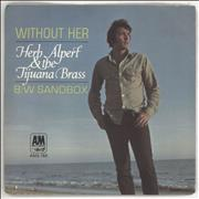 Click here for more info about 'Herb Alpert - Without Her - 4 Pr'