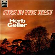 Click here for more info about 'Herb Geller - Fire In The West - Mono'