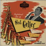Click here for more info about 'Herb Geller - Sensational Sax Of Herb Geller EP'