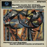 Click here for more info about 'Herbert Von Karajan - Bartók, Music For Strings, Percussion And Celesta - Hindemith, Mathis Der Maler'