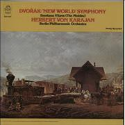 Click here for more info about 'Herbert Von Karajan - Dvorak: New World Symphony/ Smetana: Vitava (The Moldau) - Quad'