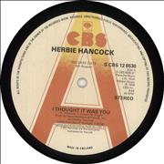 Click here for more info about 'Herbie Hancock - I Thought It Was You - A Label'