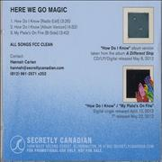 Click here for more info about 'Here We Go Magic - A Different Ship'