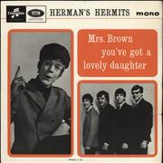 Click here for more info about 'Herman's Hermits - Mrs Brown You've Got A Lovely Daughter EP + Sleeve'