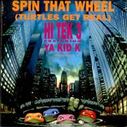 Click here for more info about 'Hi Tek 3 - Spin That Wheel [Turtles Get Real] - Poster Bag Sleeve'
