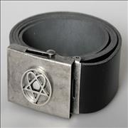 Click here for more info about 'H.i.m (His Infernal Majesty) - Leather Belt'